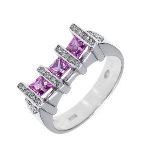 színes köves gyűrű