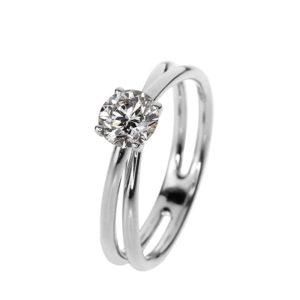 soliter gyémánt gyűrű
