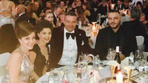 Rónai Gábor a Royal Diamonds Ékszerház tulajdonosa az est előadóival